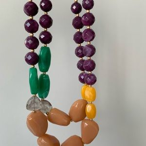 Beaded Anthro necklace